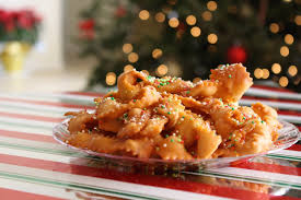 sesame ribbon christmas italian ribbon cookies recipe idea