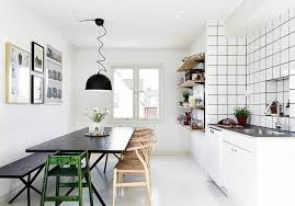Scandinavian Dining Room Unpolished Teak Wood Extendable Dining Table Scandinavian Dining