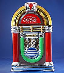 coke jukebox cookie jar kitchen collectibles cookie jars at