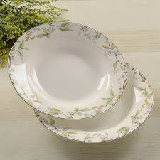 ceramic wedding plates 8 inch bone china soup plate ceramic wedding plates leaf