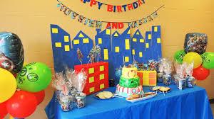 Diy Birthday Party Theme Ideas The Avengers Birthday Theme Party Ideas Youtube