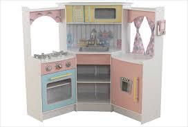 cuisine enfant cuisine d angle enfant en bois couleurs pastel kidkraft 53368