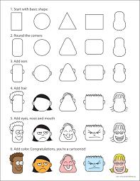 drawing cartoon faces cartoon faces creative thinking and cartoon