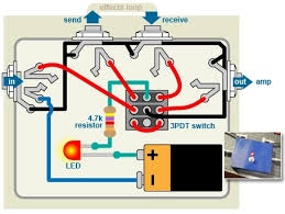 true bypass looper wiring diagram wiring diagram and schematic