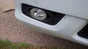 how to remove repair and replace honda odyssey foglights without