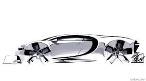 bugatti car drawing 2017 bugatti chiron design sketch hd wallpaper 73