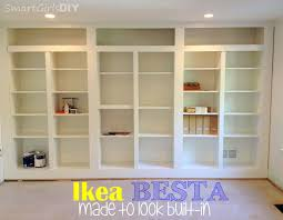how to make bookcases look built in roselawnlutheran