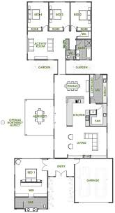 side split floor plans amazing house plans