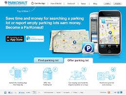 webseiten design parkonaut webseiten design für parkplatz app ist finalisiert