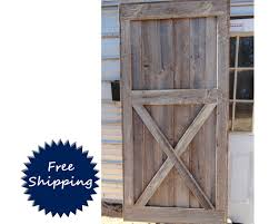 Barn Door Room Divider Half X Brace Barn Door Room Divider Made To Order From