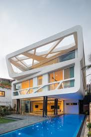 modern architecture new model of home design ideas bell house