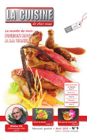 la cuisine de gratuit avril 2012 n 9 newspaper and cuisine