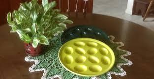 fiestaware egg plate egg plate central archives my egg plate