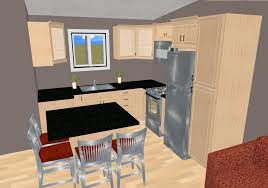 Small Kitchen Floor Plans The 585 Sq Ft Small House Floor Plan Concept Lilly Pad Cozy