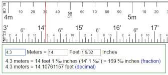 40 meters to feet how big is a centimeter compared an inch meter 2 feet ready exle