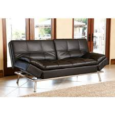 Living Room With Black Leather Furniture by Leather Sofas Couches U0026 Loveseats Shop The Best Deals For Oct