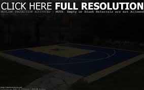 cool basketball court in backyard wli inc