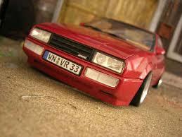 volkswagen corrado tuning volkswagen corrado vr6 german look revell diecast model car 1 18