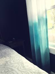 Ombre Window Curtains Shore Society Diy Ombre Curtains