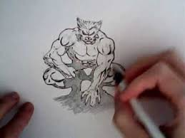 how to draw beast from the xmen marvel comics youtube