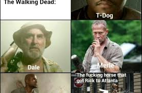T Dogg Walking Dead Meme - the walking dead characters funny pictures quotes memes funny