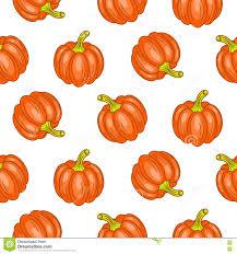 fun halloween repeating background autumn halloween seamless vector pattern stock vector image