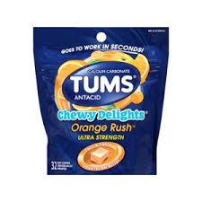 buy tums chewy delights chewable antacid for heartburn relief cvs