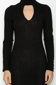 keyhole turtleneck essue keyhole sweater dress from naples by bio new york shoptiques