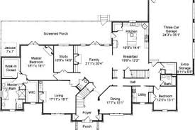colonial floor plans 36 colonial house floor plans and designs post beam house plans