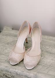 wedding shoes open toe blush peep toe bridal shoes elizabeth designs the wedding
