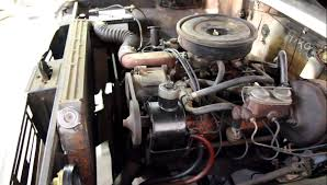 1973 international 1310 345 v8 engine and 4 speed transmission