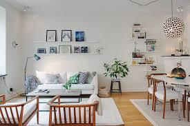 Living Room Corner Shelf by Scandinavian Living Room Design Black Polished Wooden Wall Corner