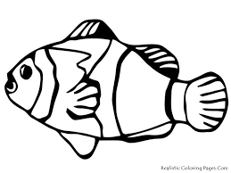 coloring page clown fish kids drawing and coloring pages marisa