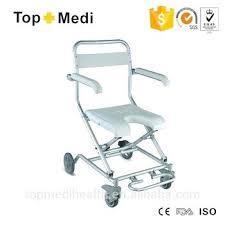 shower chair with wheels aluminum medical elderly bath and armrest