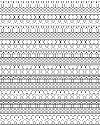 beautiful design pattern coloring pages showcases coloring