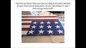 How To Draw A Waving Flag Diy Big Wooden American Flag Youtube