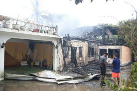 main st residence that housed risans destroyed by fire u2013 stabroek news