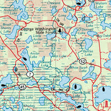atlas road map minnesota delorme atlas road maps topography and more