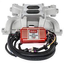 edelbrock 7118 performer rpm ls1 intake manifold and timing kit