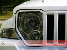 2012 jeep liberty light bar rtint jeep liberty 2008 2012 headlight tint film