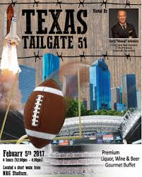 Super Buffet Hours by Texas Tailgate 51 Tickets Sun Feb 5 2017 At 12 30 Pm Eventbrite