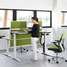 Electric Height Adjustable Computer Desk Height Adjustable Computer Desks To Enjoy You Re Working Home