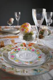 easter table setting florals u2022 craft thyme