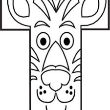 capital letter t iis for tiger coloring page bulk color
