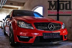 mercedes c63 amg replica carbon fiber front lip for 2012 mercedes c63 amg black series