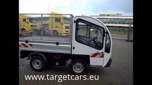 electric utility vehicles 774422 goupil g3 1 electric utility vehicle utv tipper 05 2008