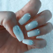 my ombre nails by powder done by cristy yelp
