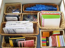 How To Organize Desk Organize Your Desk Drawer A Style