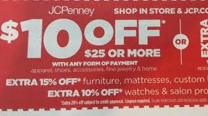 jcpenney coupon 10 25 purchase wral