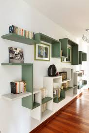 beautiful living room wall shelves including cool creative